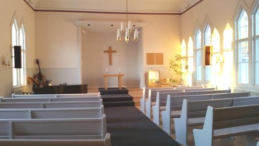 Öppen kyrka med nattvard den 9 maj